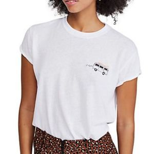 Free People Wipe Out Graphic Tee Size XS